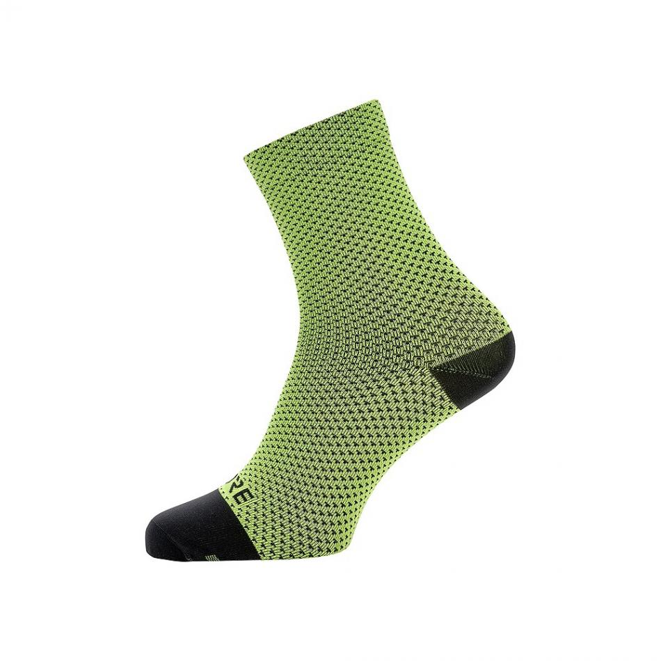 Taille Fabricant : 41-43 Gore Running Wear C3 Optiline Chaussettes Mixte Adulte FR : XL Graphite Grey//Black